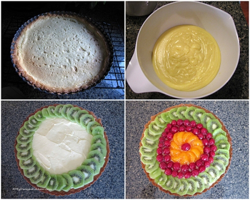 Making Fresh Fruit Tart