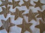 Sparkling Linzer Stars