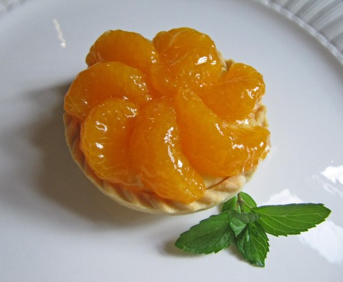 Mandarin Mini Fruit Tart