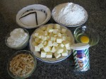 Vaniljekranse Ingredients