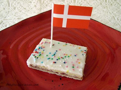 Danish Hindbærsnit