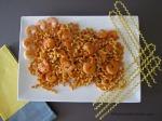 Fusilli Col Buco And Shrimp In Tomato Cream Sauce