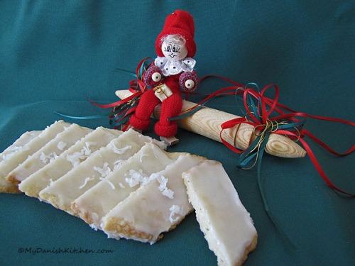 Danish Fedtebrød cookies