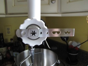Star attachment for KitchenAid