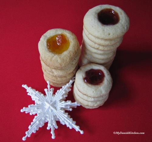 12 Days Of Christmas Jam Thumbprint Cookies My Danish Kitchen