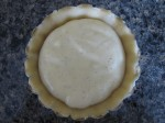 Dough filled with Custard