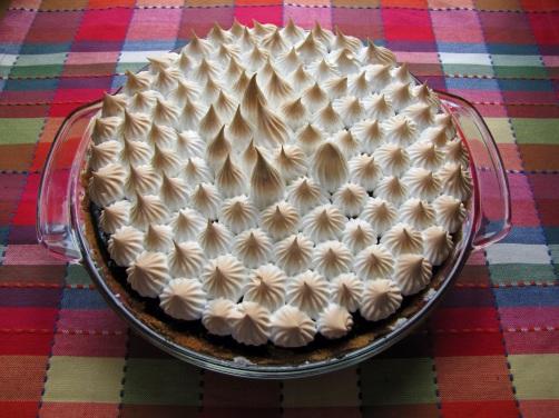 Dark Chocolate S'mores Pie – Secret Recipe Club | My Danish ...
