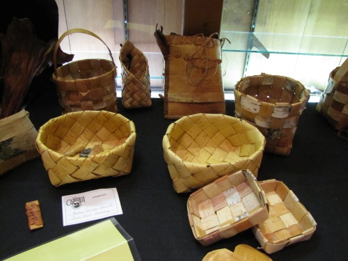 Birch Bark Basketry