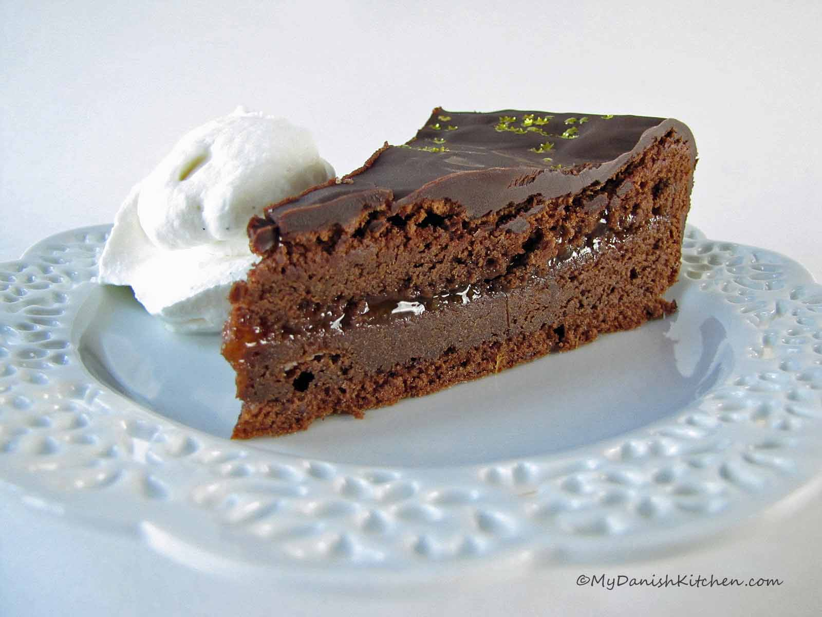 Austrian Sachertorte | My Danish Kitchen