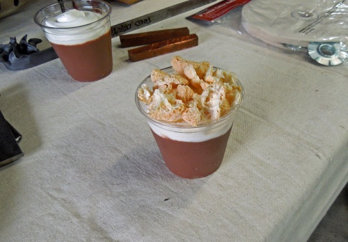 Chocolate Amaretto Pudding