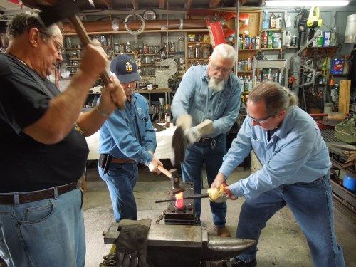 How many Smiths does it take to make a hammer head?