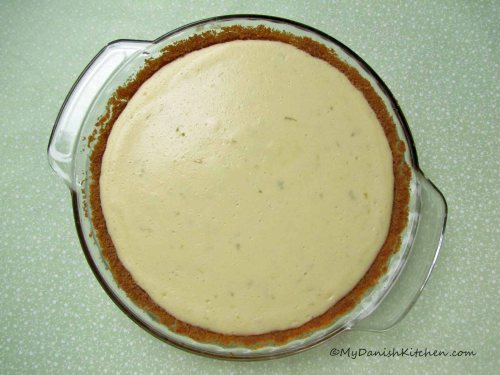 Key Lime Pie without topping
