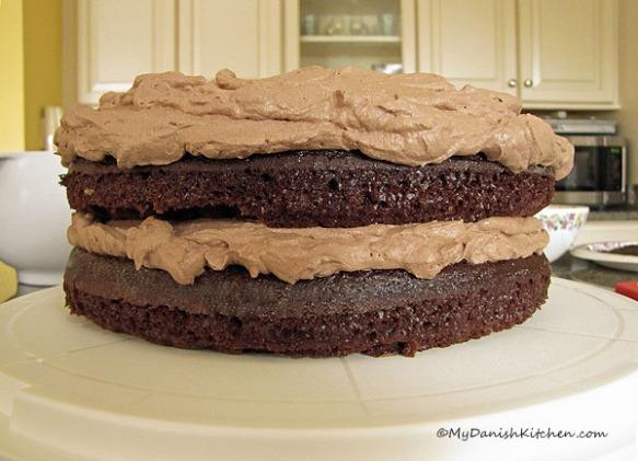 Black Magic Chocolate Cake My Danish Kitchen