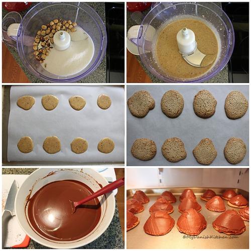 Making Sarah Bernhard Cakes